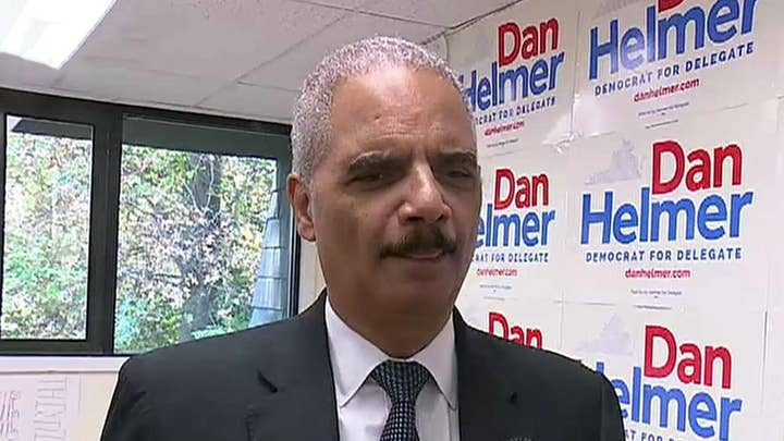 Holder: Concerned Barr is acting as Trump's lawyer, not attorney general