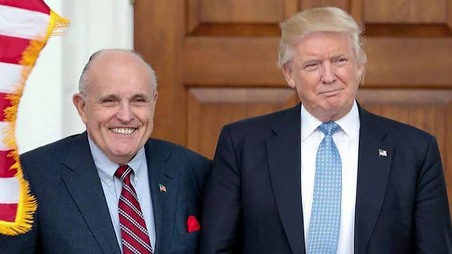 President Trump's personal attorney Giuliani fires back after House Democrats subpoena