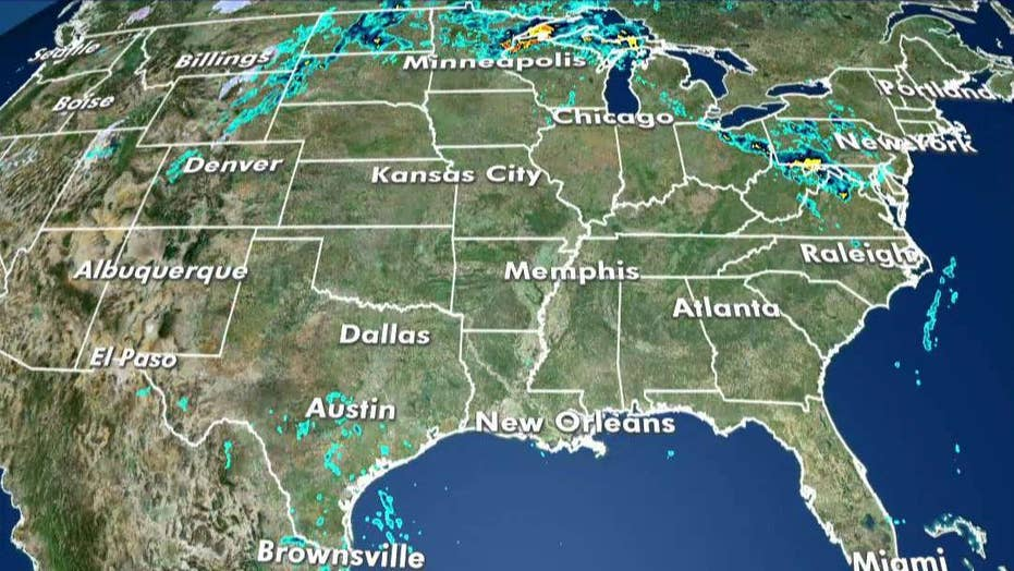 National forecast for Tuesday, October 1