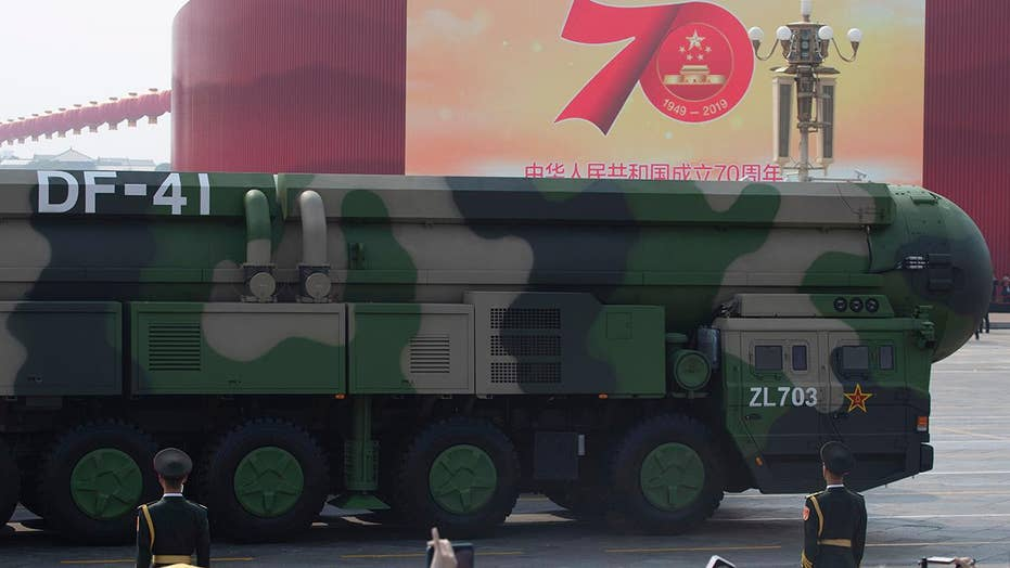 China unveils nuclear missile at 70th anniversary parade