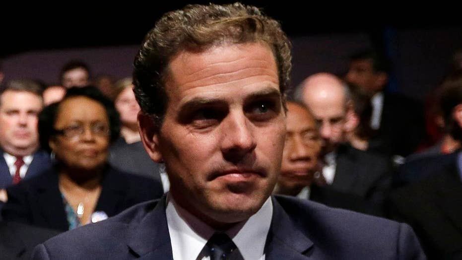 Hunter Biden facing scrutiny over ties to Ukrainian natural gas company