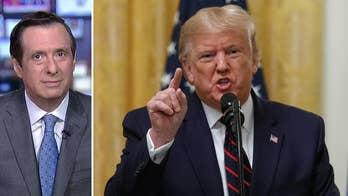Impeachment intensity: Trump decries 鈥榗oup鈥� and 鈥榗orrupt media鈥�
