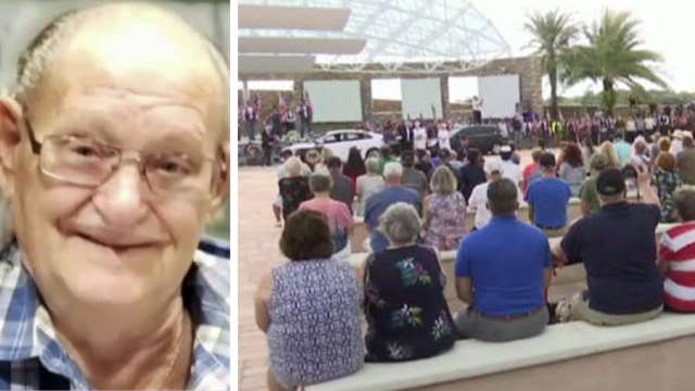 More than 1,000 strangers turn up at the funeral of Florida veteran with no family