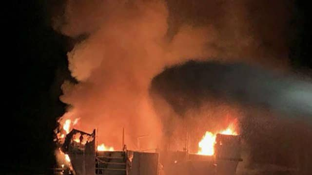 Conception dive boat owners suspend operations after deadly fire
