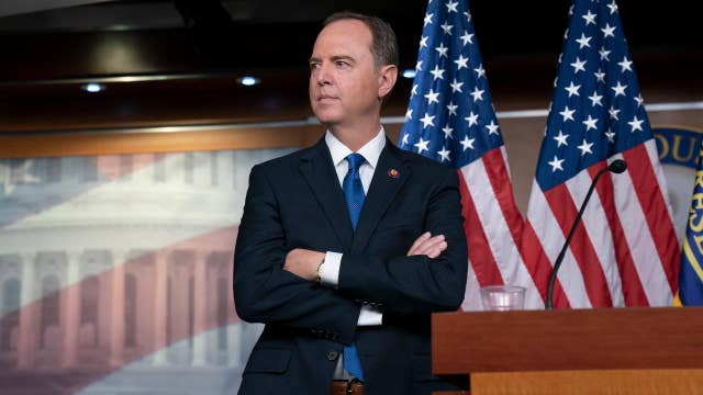 President Trump says 'lowlife' Adam Schiff should be forced to resign