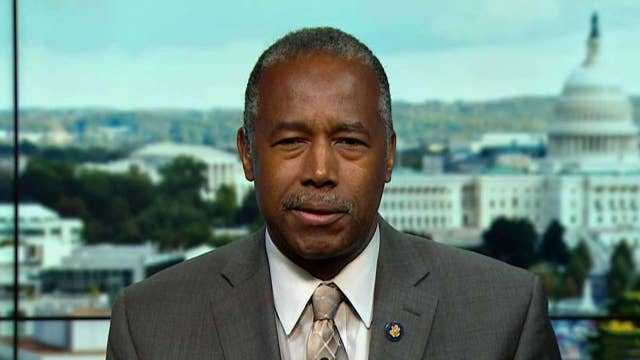 Secretary Ben Carson on fallout from House Democrats' impeachment inquiry, California's homeless crisis