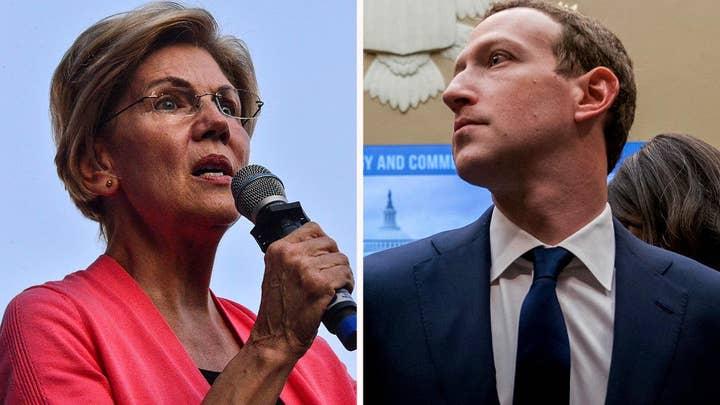 Facebook CEO threatens lawsuit if Elizabeth Warren wins the presidency