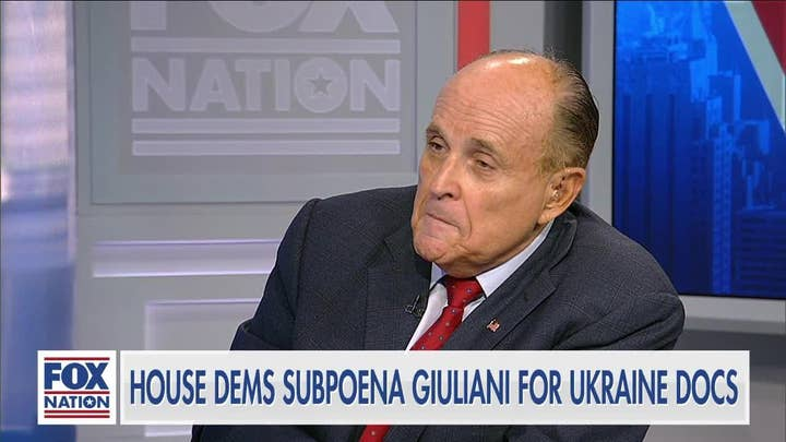 Giuliani: Pelosi's impeachment inquiry designed to get Trump and protect Biden