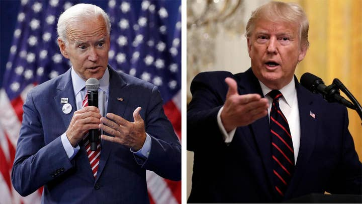 Biden responds to Trump's comments on family