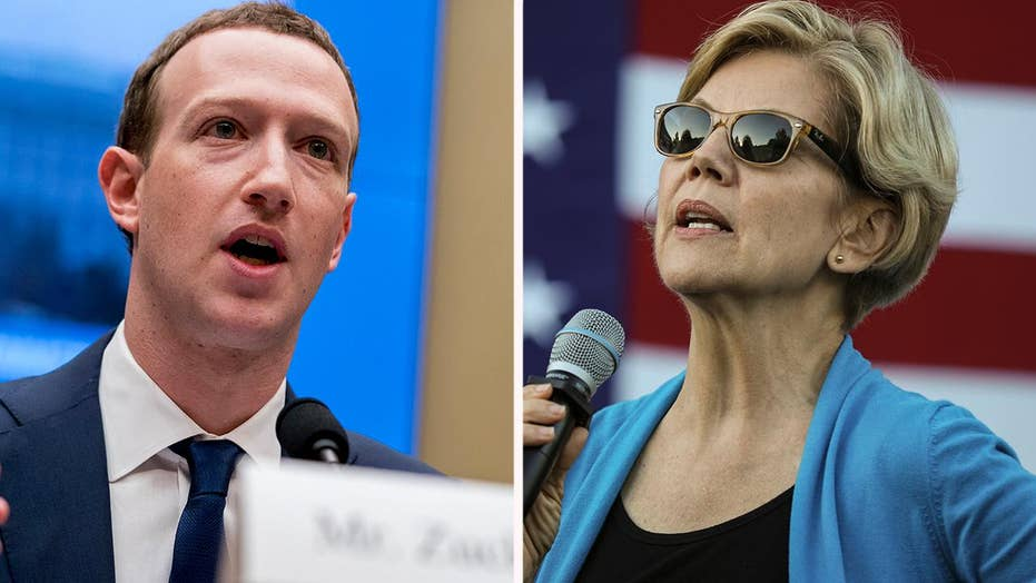 Zuckerberg to sue US government if Elizabeth Warren is elected