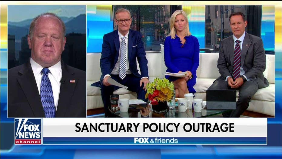 Tom Homan rips VA police chief who suspended officer for cooperating with ICE: 'Politics comes first'
