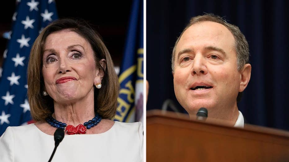 Pelosi holds weekly press conference with House Intelligence Chairman Schiff