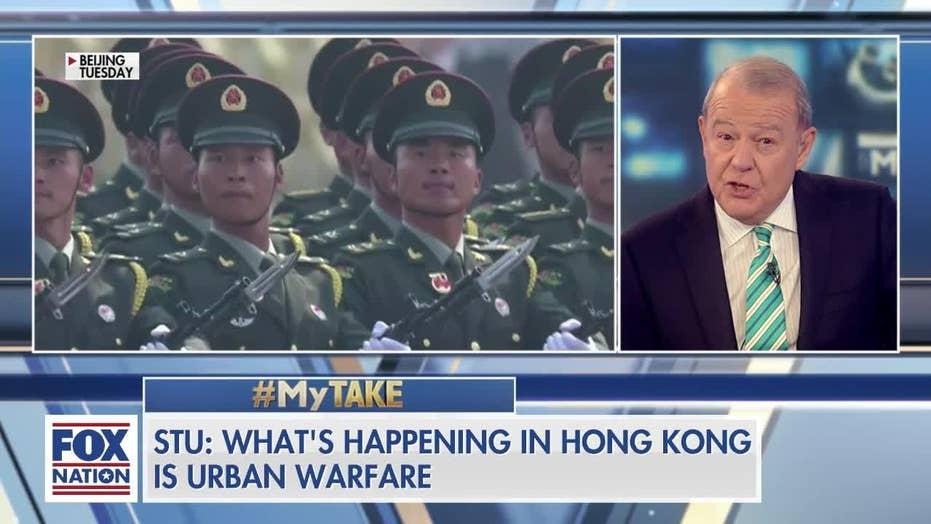 Varney says Hong Kong is engaging in 'urban warfare': 'We can't sugarcoat this'