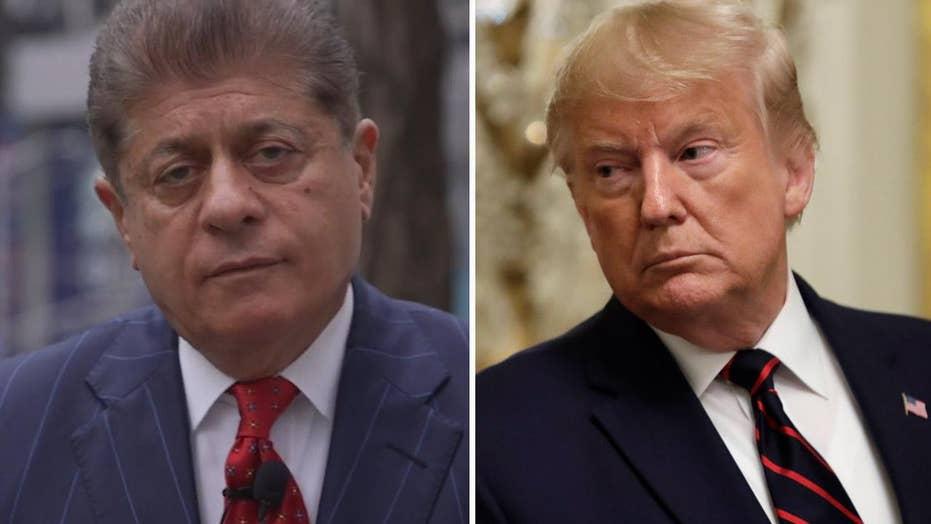 Image result for Judge Napolitano + trump