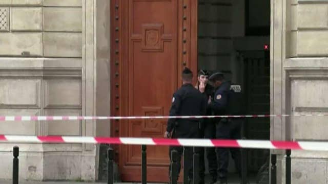 Four officers killed in knife attack at Paris police headquarters
