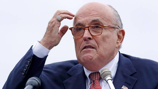Rudy Giuliani says Kurt Volker reached out to him