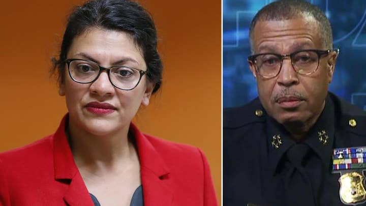Detroit police chief fires back at Tlaib's suggestion to only hire black analysts for facial recognition