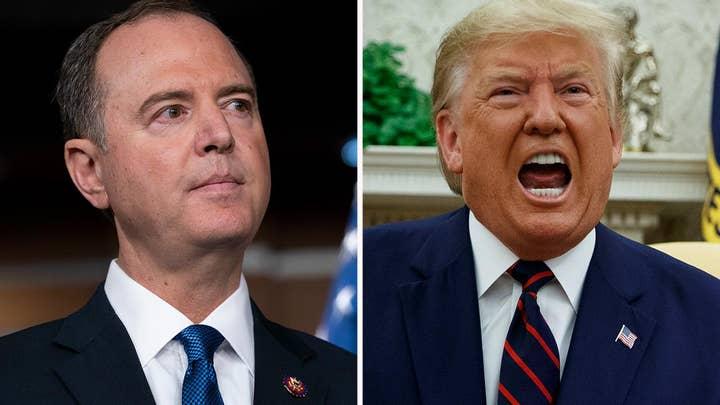 Trump blasts Schiff over having prior knowledge of the whistleblower complaint