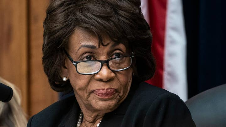 Maxine Waters defends saying President Trump should be in prison
