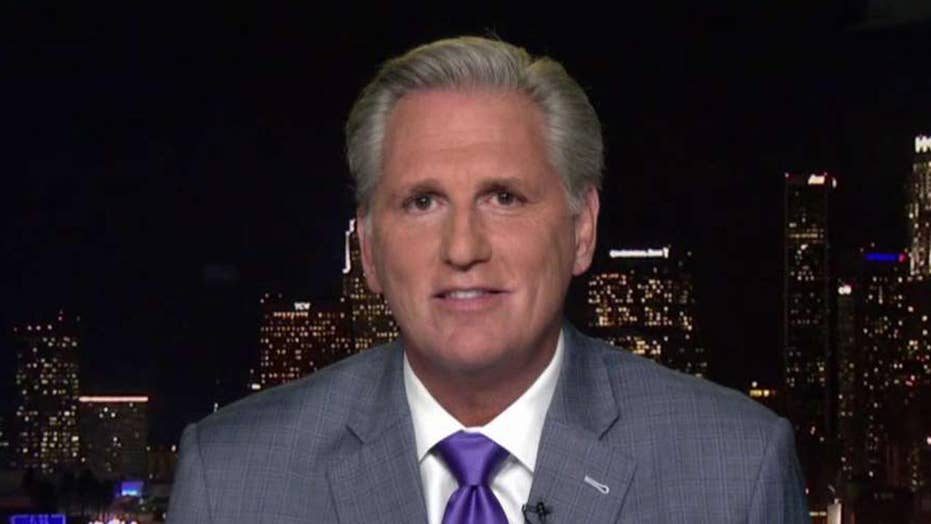 Rep. McCarthy: Remove Schiff from Intel Committee due to 'lies and deceit'