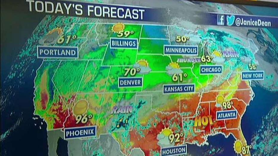 National forecast for Thursday, October 3