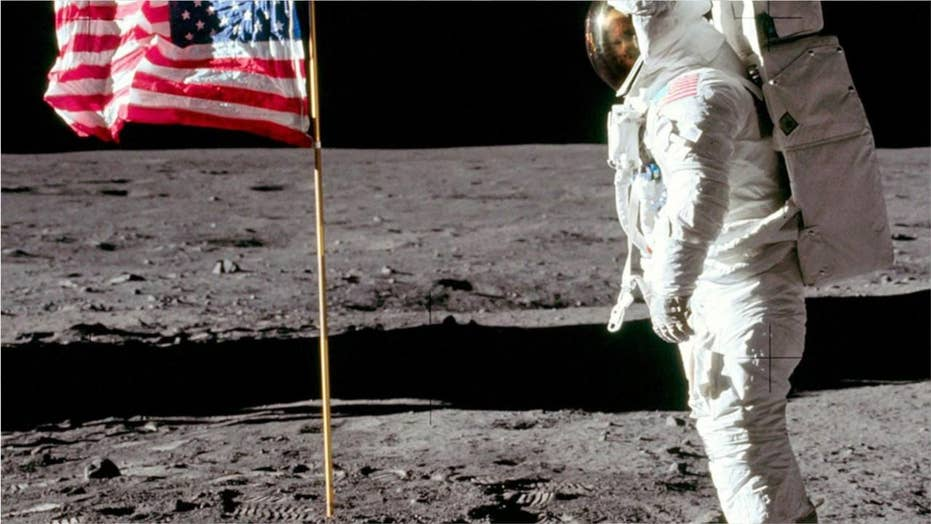 Apollo 11 shocker: Buzz Aldrin's face discovered in iconic photo