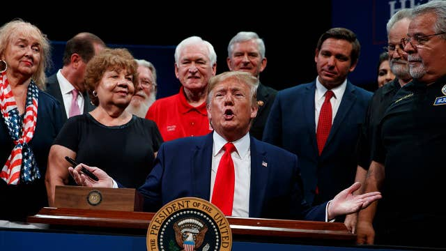 President Trump signs executive order to 'protect and improve' Medicare