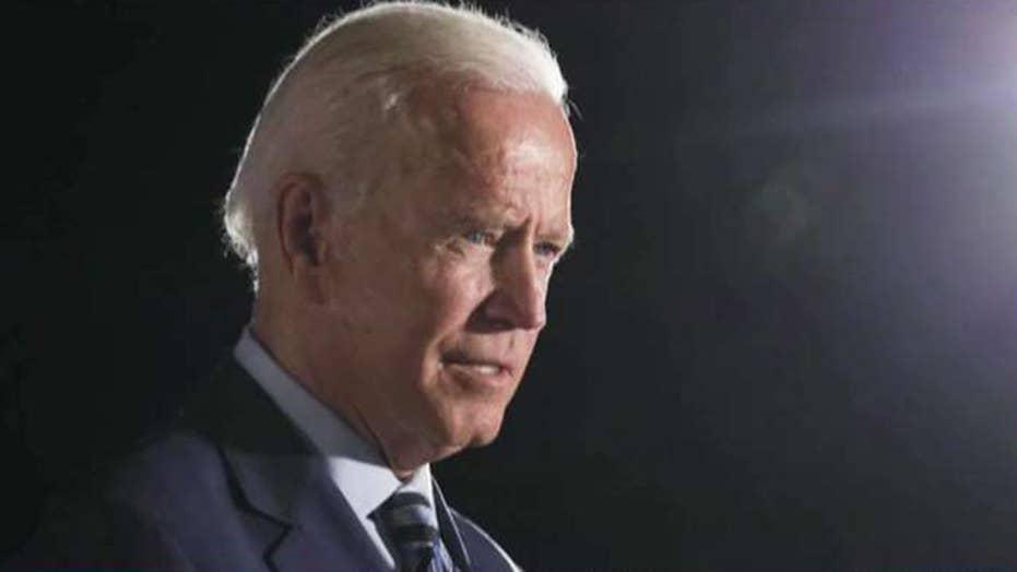 Biden tells Trump: I'm not going anywhere