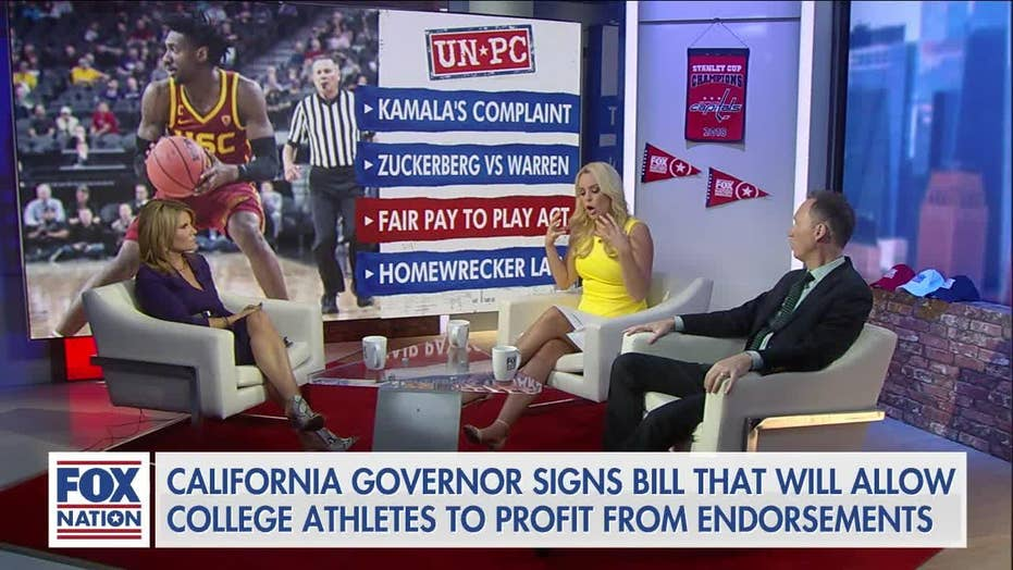 Britt McHenry blasts NCAA over pay for student-athletes: 'biggest racketeering institution... we legally allow'