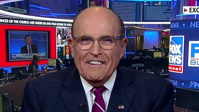 Giuliani rips impeachment coverage