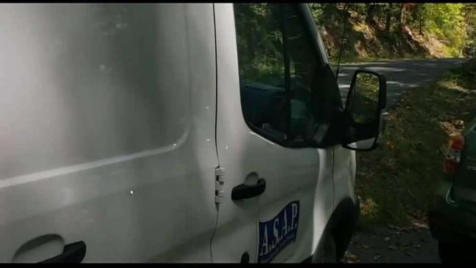 Bear cubs stuck in van freed after honking horn