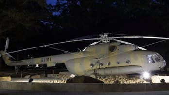 CIA helicopter used in first Afghanistan mission after 9/11 now on display at CIA museum