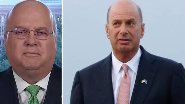 Karl Rove reacts to Trump administration blocking EU ambassador from testifying on Ukraine