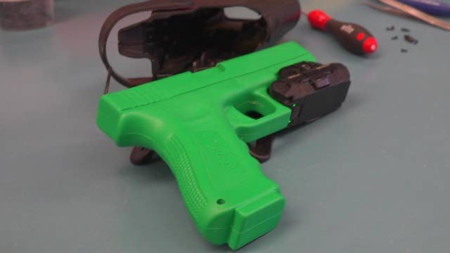 Police departments invest in gun cameras