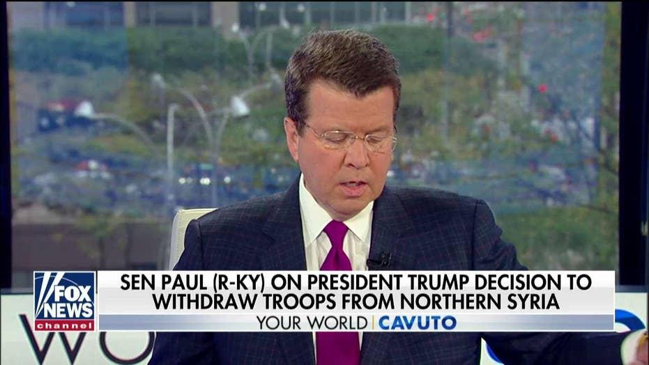 Sen. Rand Paul on President Trump's Syria withdrawal