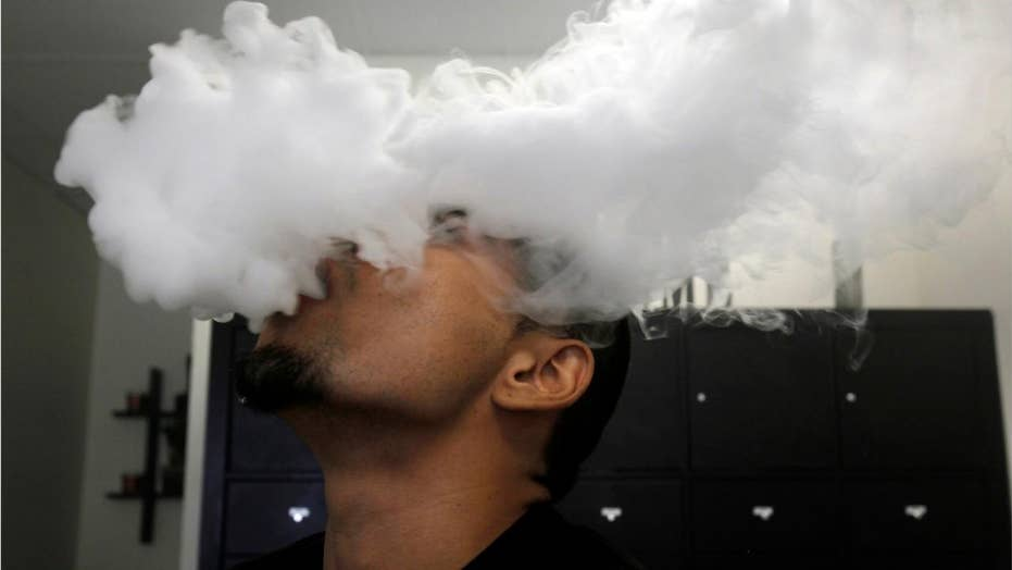 New York state records its first vaping-illness death