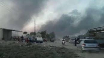 Kurdish forces fear catastrophe as Turkey invades Syria