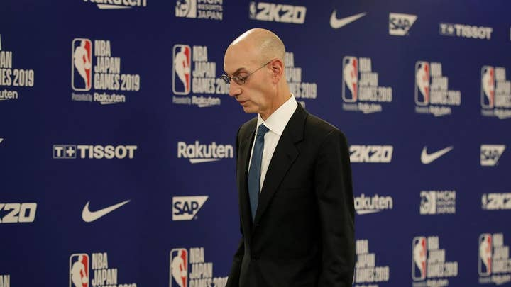 NBA commissioner defends free speech after China halts NBA broadcasts