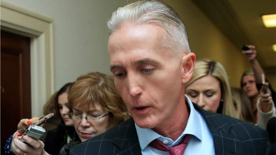 Report: Trey Gowdy to join Trump's legal team on impeachment inquiry