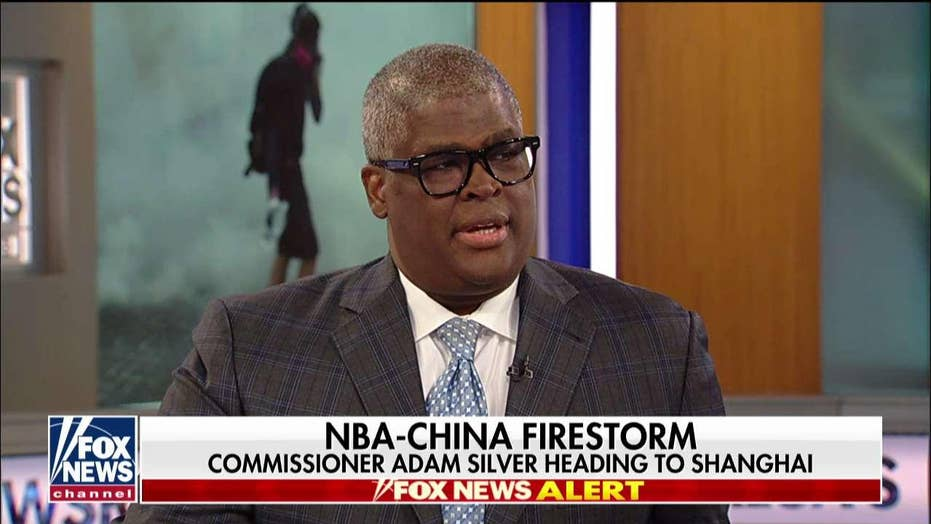 Charles Payne on NBA-China firestorm: League's initial reaction was 'disgraceful'