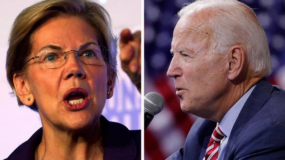 Warren edges Biden in average of recent 2020 polls