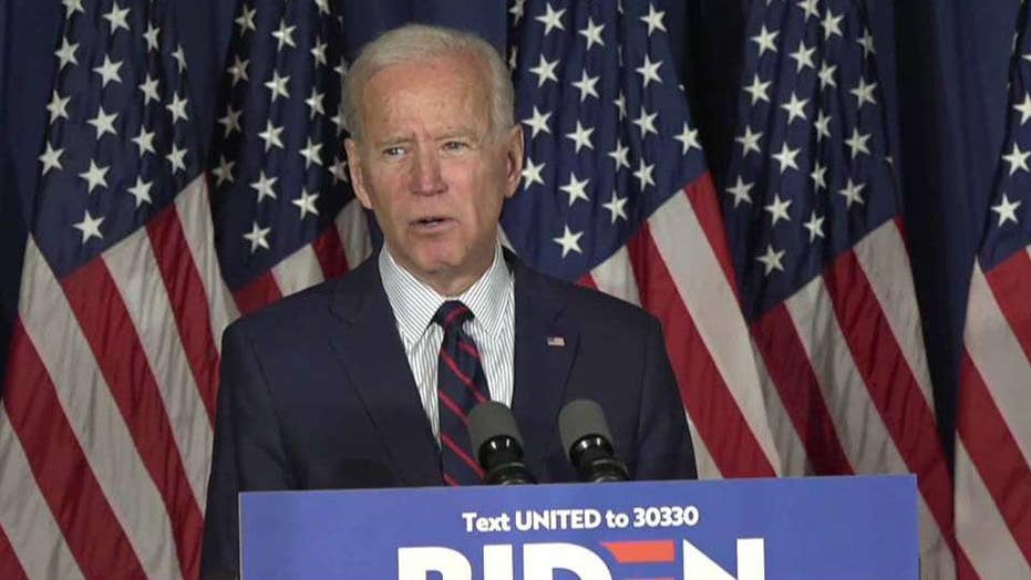 Joe Biden calls for President Trump to be impeached for the first time