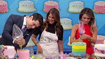 Celebrating National Cake Decorating Day with Rob and Jillian