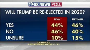 Fox News poll: 44 percent think President Trump will win reelection