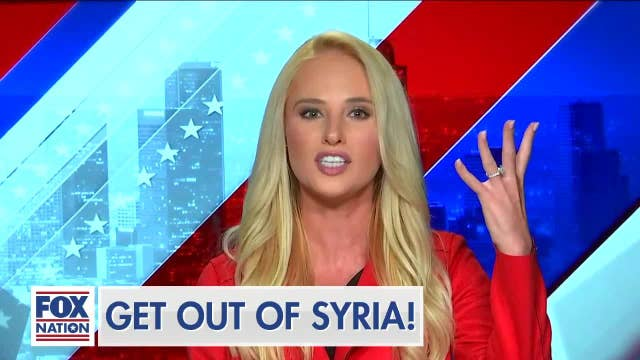 'Another promise kept:' Tomi Lahren applauds Trump's controversial decision to remove US troops from Syria
