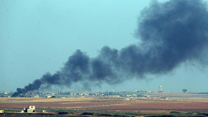 Turkish airstrikes pound Kurdish villages