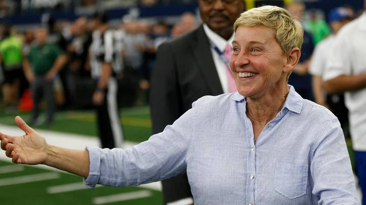 Hollywood attacks Ellen over friendship with Bush