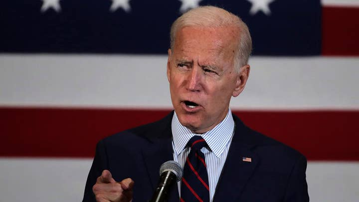 Fox News poll shows Joe Biden leading ahead of Elizabeth Warren