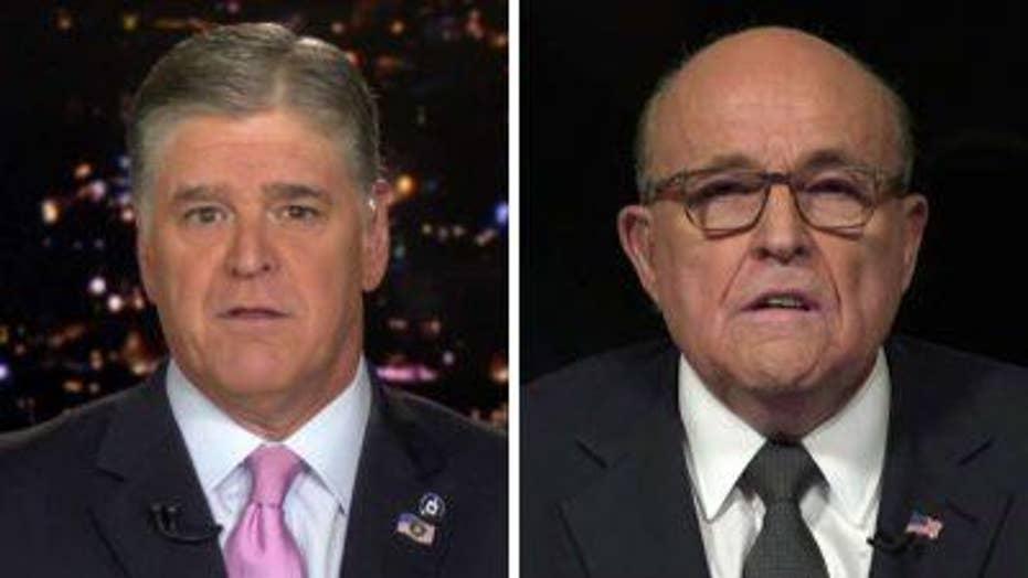 Giuliani responds to Trump impeachment inquiry