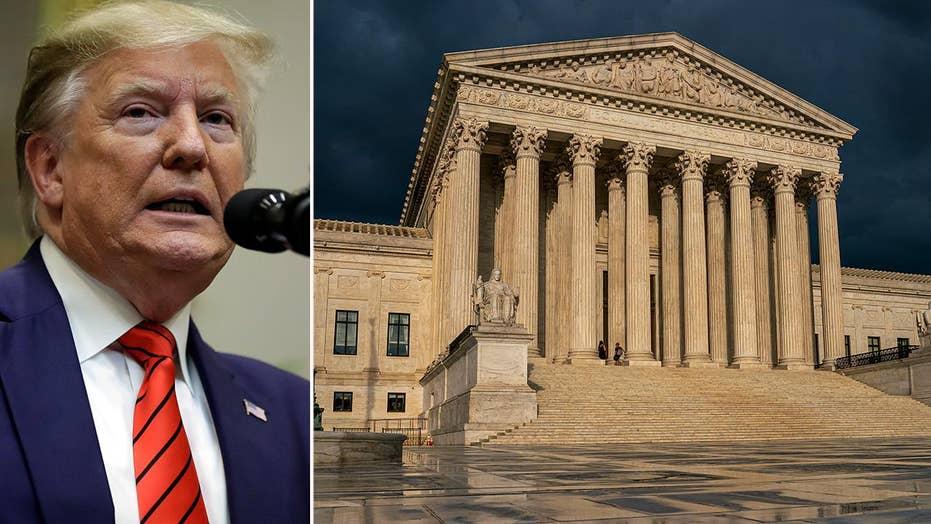 Trump urges Supreme Court to strike down DACA